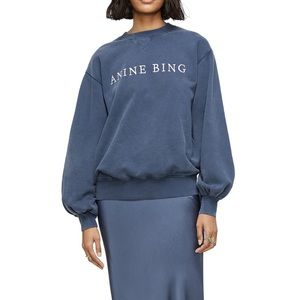 ANINE BING Esme Crewneck Sweatshirt
